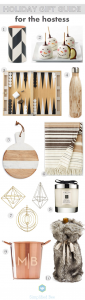 holiday gift guide 2015 // hostess gift ideas // via @simplifiedbee