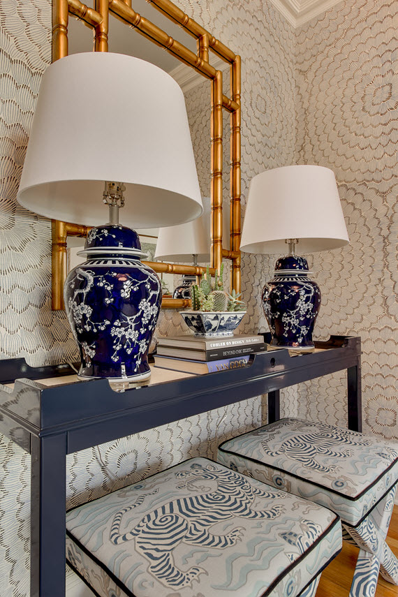 entry console table // by @simplifiedbee
