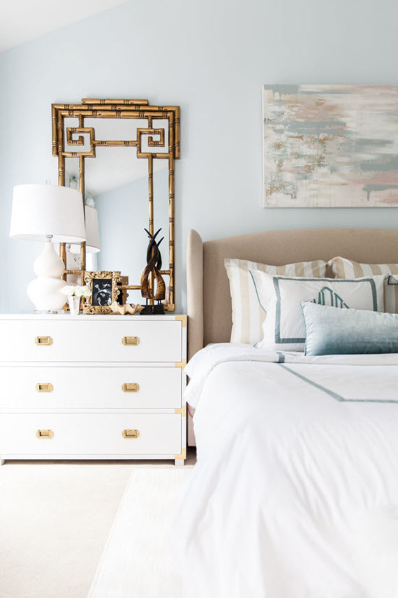 serene bedroom design // style your senses // via @simplifiedbee