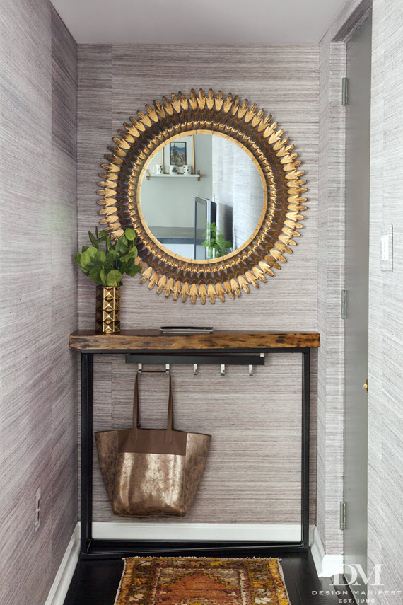 small entryway // design manifest // via @simplifiedbee