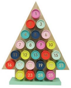 colorful advent calendar // via @simplifiedbee
