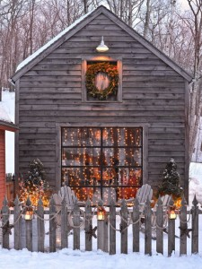 rustic country holiday