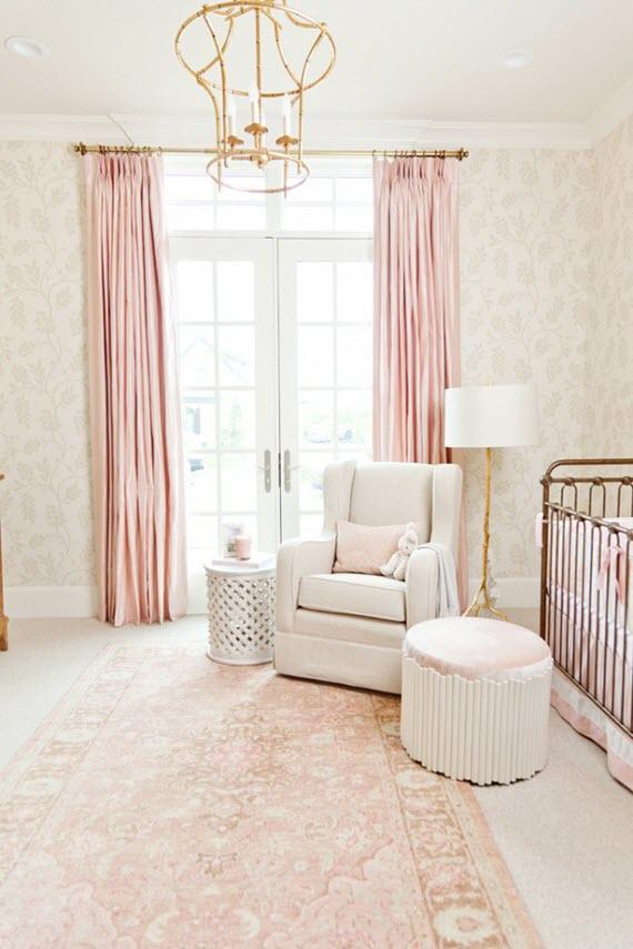 pale pink nursery // caitlin creer