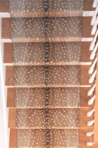 foyer // antelope carpet stair runner // @simplifiedbee