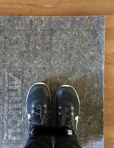 eco-friendly rug pad // @simplifiedbee