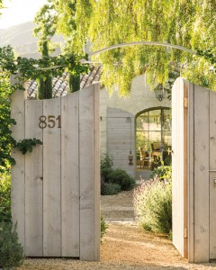 front gate // Patina Farms