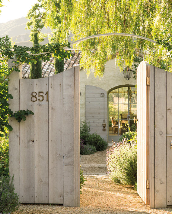 front gate // Patina Farm