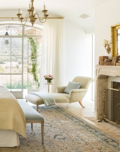 master bedroom chaise // steve and brooke giannetti // patina farms