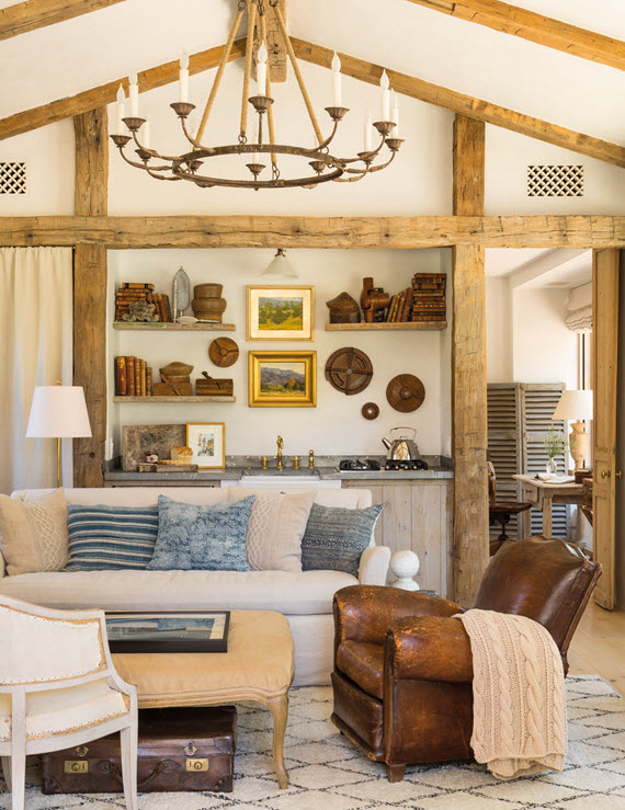 living room // steve and brooke giannetti // patina farm