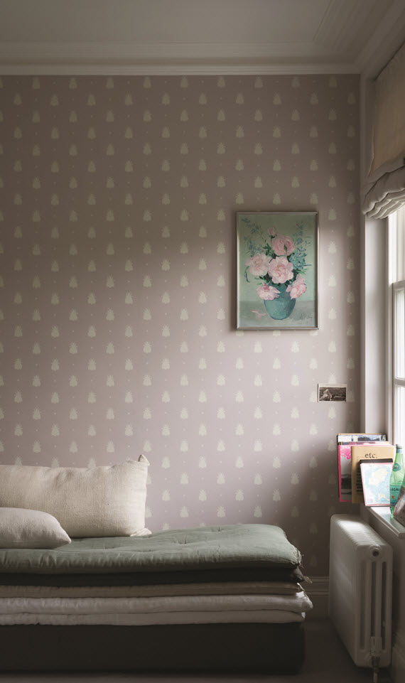Farrow & Ball Bumblebee Wallpaper // @simplifiedbee