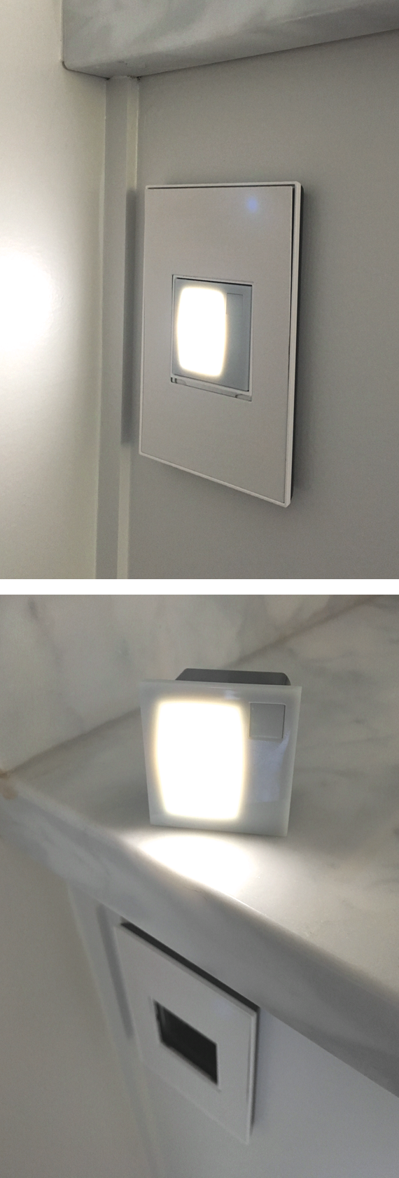 adorne nightlight + flashlight // @simplifiedbee #oneroomchallenge
