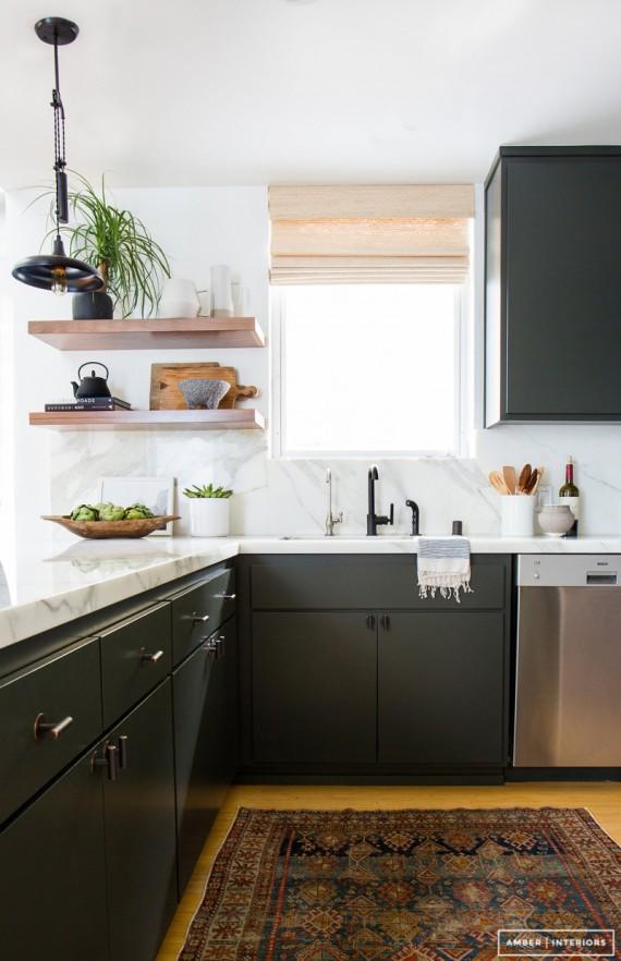 black cabinet // amber interiors
