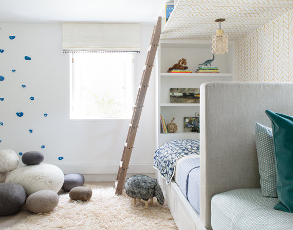 kids' bedroom // nest design co // san francisco decorator showcase 2016