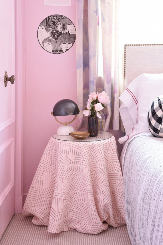 pink girl's bedroom // sketch 42
