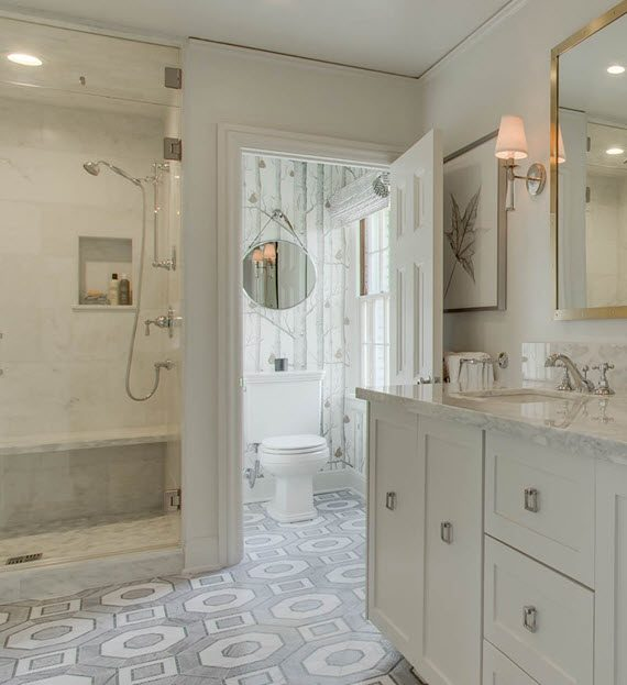 master bathroom // @simplifiedbee // #oneroomchallenge