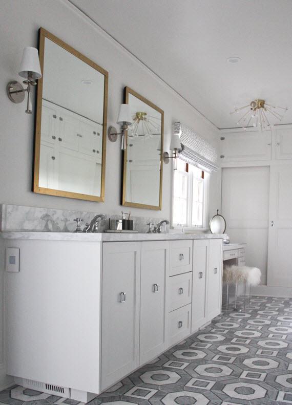 master bathroom // vanity // @simplifiedbee #oneroomchallenge