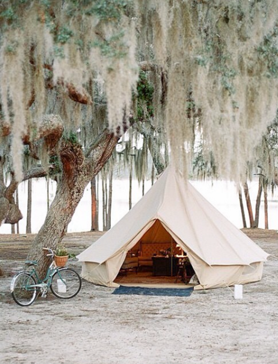 glamping inspiration // @simplifiedbee