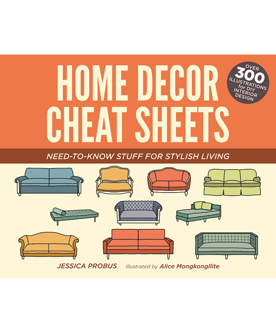 Book Review Home Decor Cheat Sheets Simplified Bee