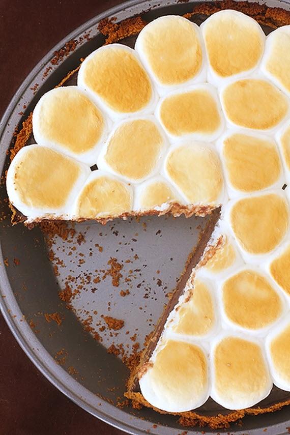 smores pie // thanksgiving recipes