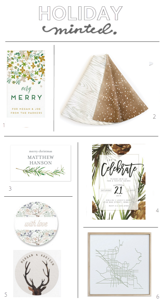 Holiday Faves // minted.com