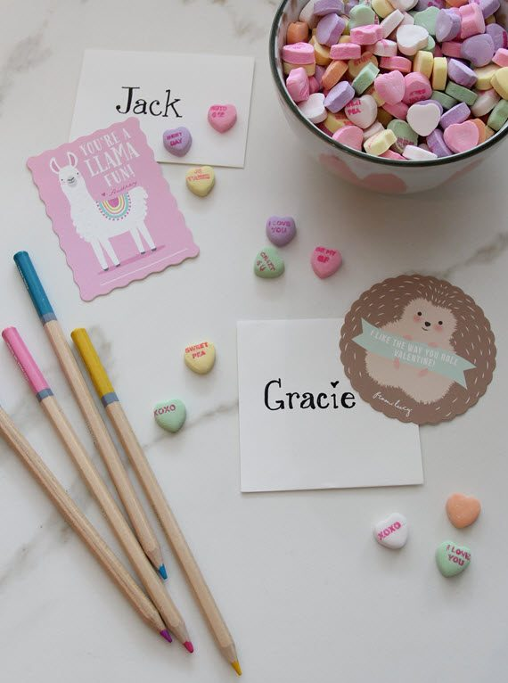 cute kids' Valentine's Day cards // @simplifiedbee