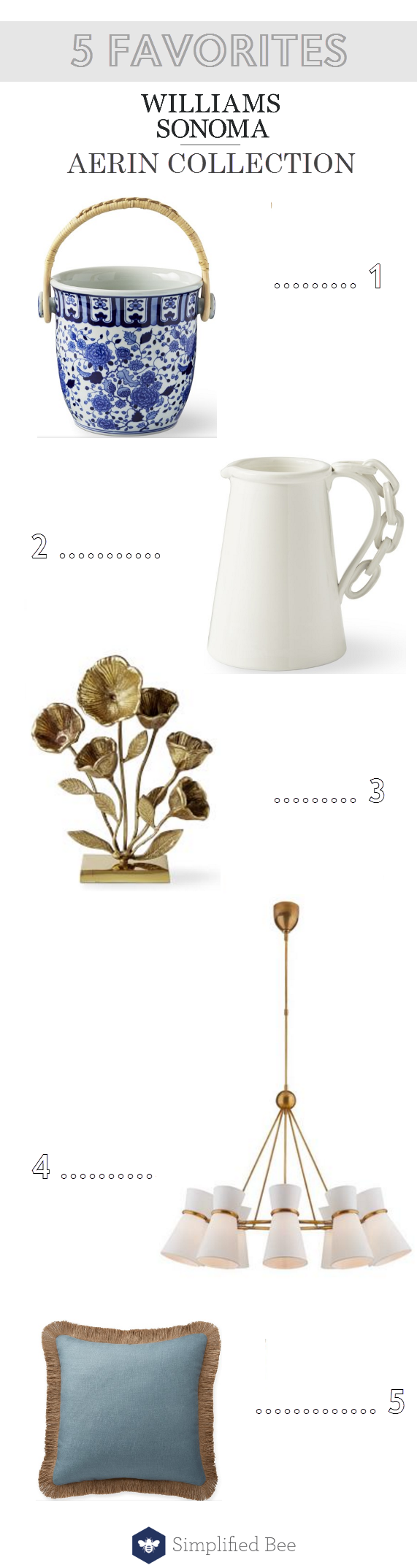 AERIN Collection for Williams Sonoma Home