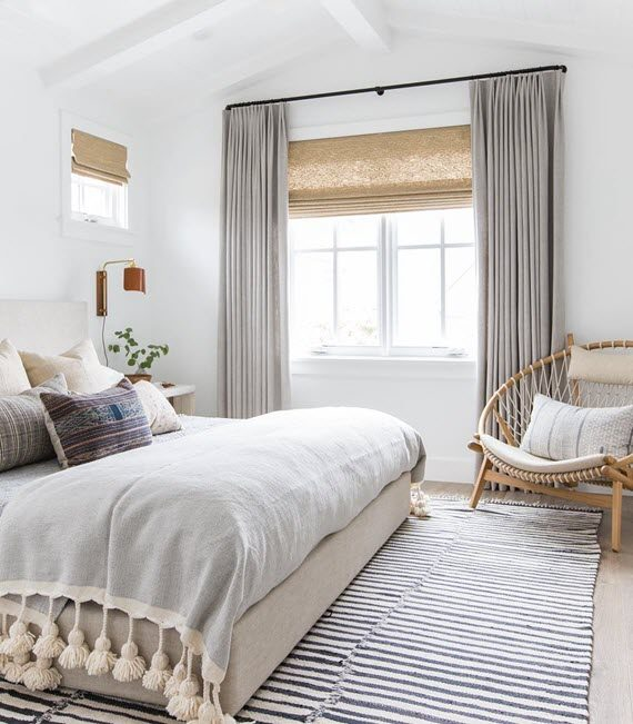 beachy chic bedroom