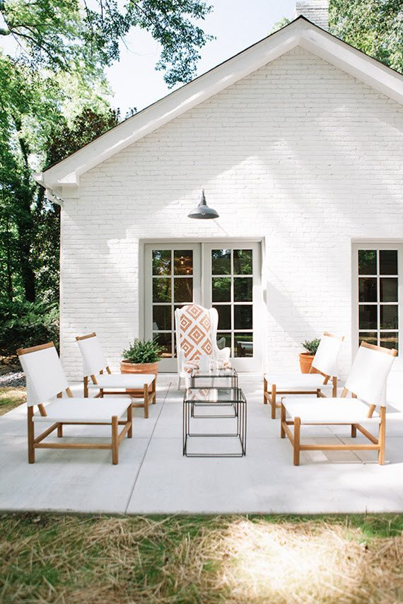 simple outdoor patio #outdoorliving