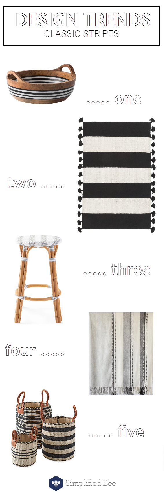 design trends // classic stripe patterns #stripes