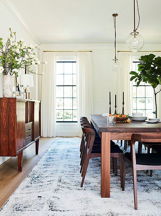 california casual dining room