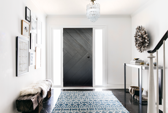 timeless modern entry // san francisco