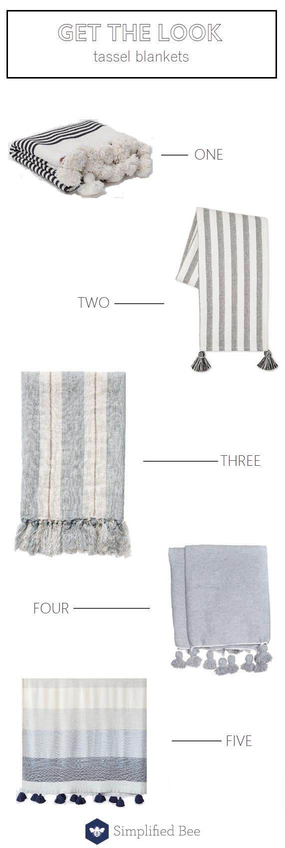 tassel blankets #blankets #tassels