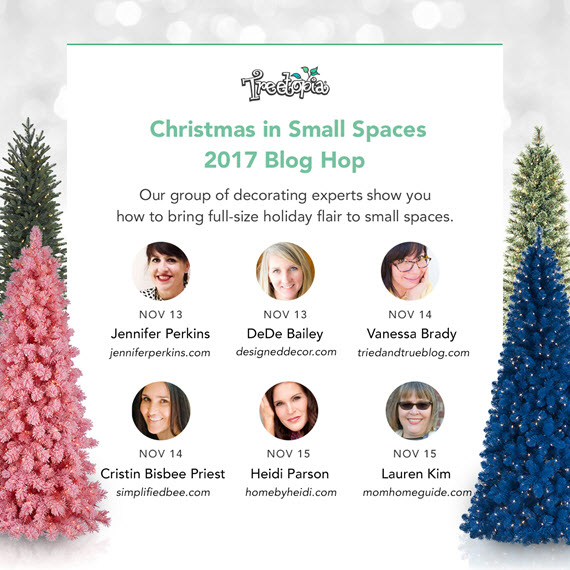 Treetopia's Christmas in Small Spaces