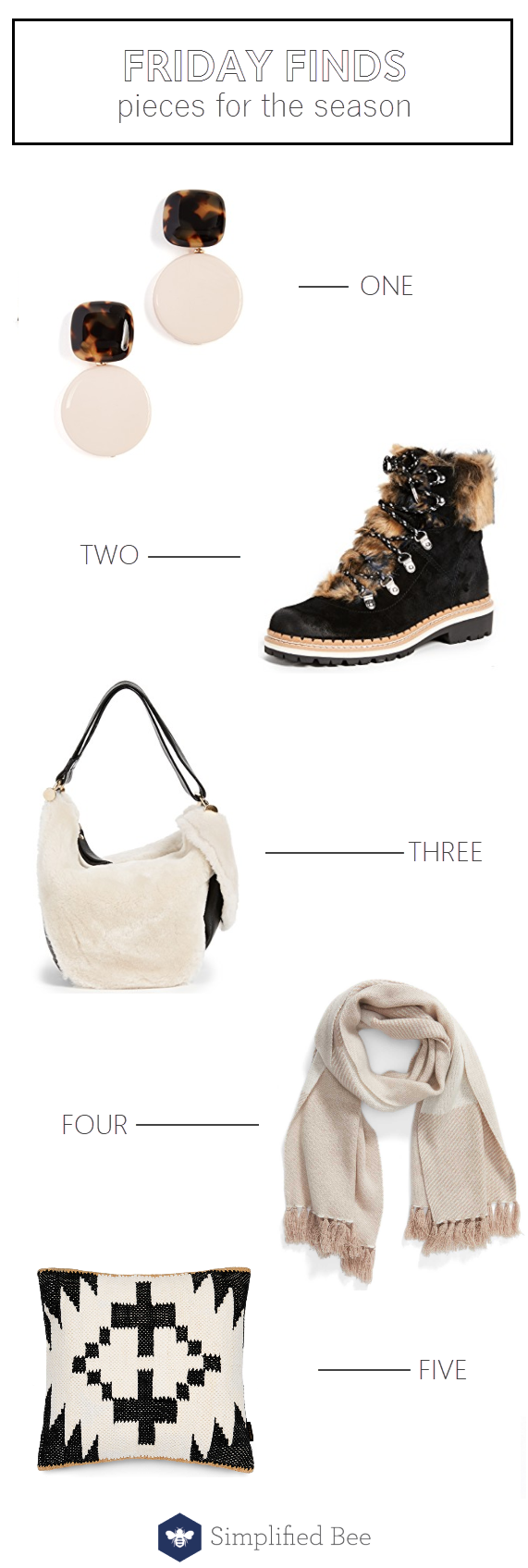 neutral winter trends // friday finds // @simplifiedbee #winterfashion #wintertrends