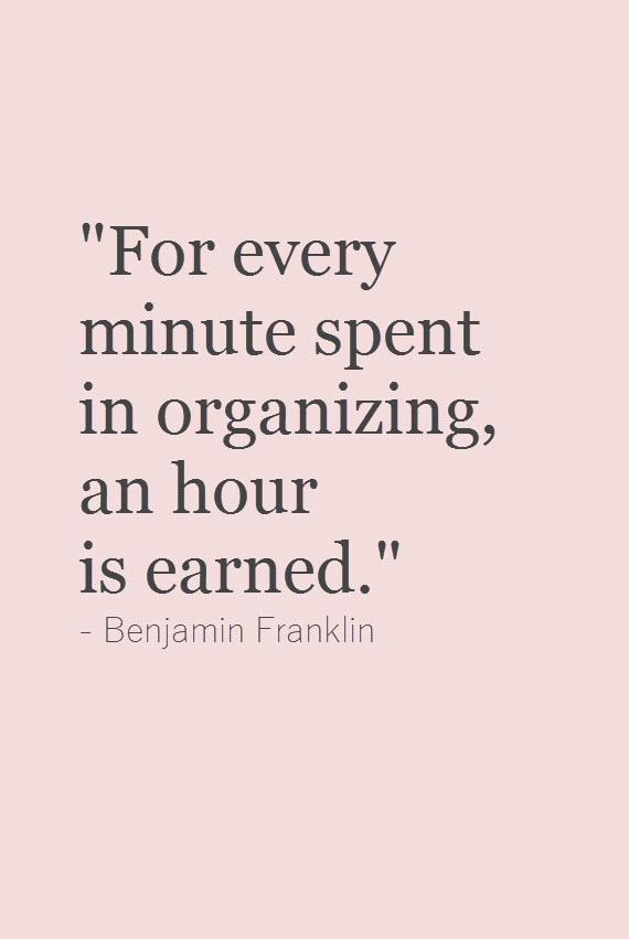 organized home #quote #organizedhome