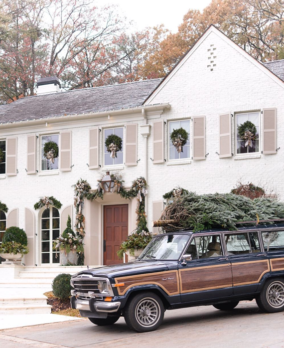 holiday home // Atlanta Homes Mag