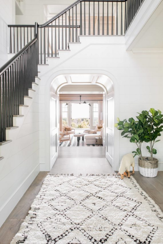 beach house entryway // cortney bishop design