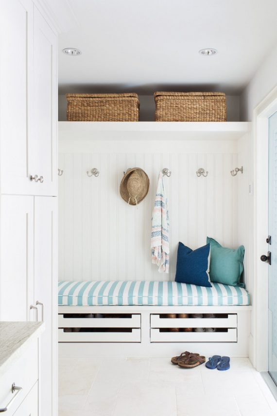 custom cabinetry // mudroom // @simplifiedbee