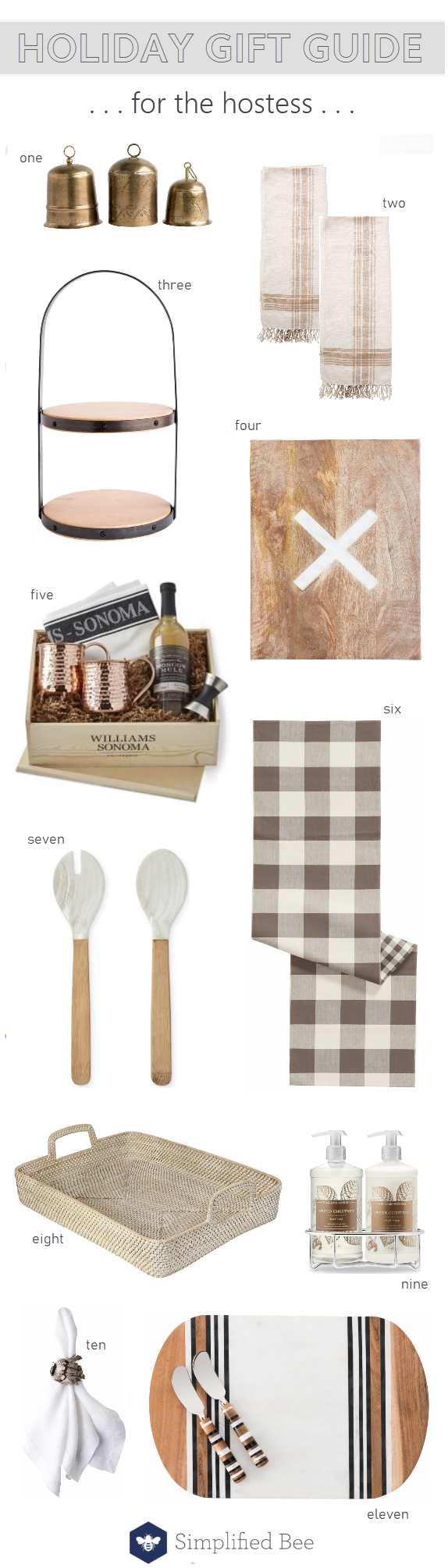 hostess gifts :: gift guide 2018