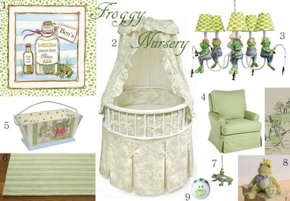 Frog Prince Nursery Room