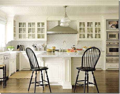 Carrara Marble White Designer Kitchen