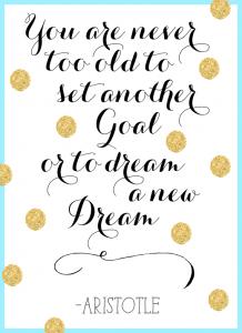 goal setting quote aristotle