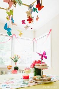 butterfly fiesta party ideas // simplified bee