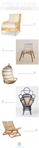 statement rattan chairs // simplified bee #design #chairs #rattan