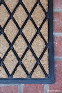 front door mat // simplified bee #TargetStyle