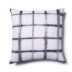 gray shibori pillow // rebecca atwood