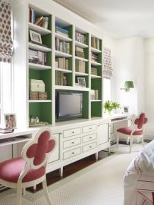 girl's bedroom // celerie kemble design
