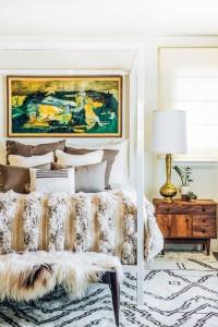 Bedroom // Moroccan Wedding Blanket // Megan Tagliaferri