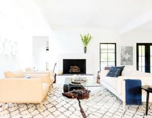 boho living room design // maggie pierson design