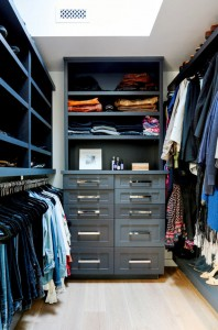 custom walk-in closet // maggie pierson design